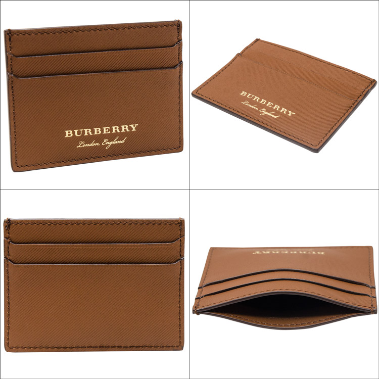 bed649608a83 BURBERRY バーバリー トレンチレザー カードケース バーバリーオリジナルの新レザー「トレンチレザー」で製作した、スリムなカードケース。エッジをハンドペイントで  ...