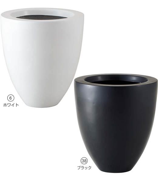 ★おしゃれな植木鉢 スタイルラウンドポット(L)  [PAPL7963]<BR>【ポット 植木鉢 花材】