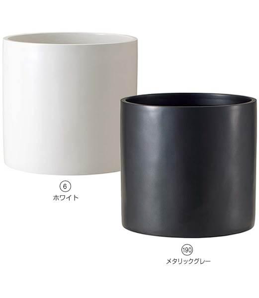 ★おしゃれな植木鉢 ポット リングポット(R43型)  [PAPO7828B]<BR>【ポット 植木鉢 花材】