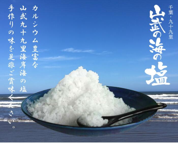 山武の海の塩