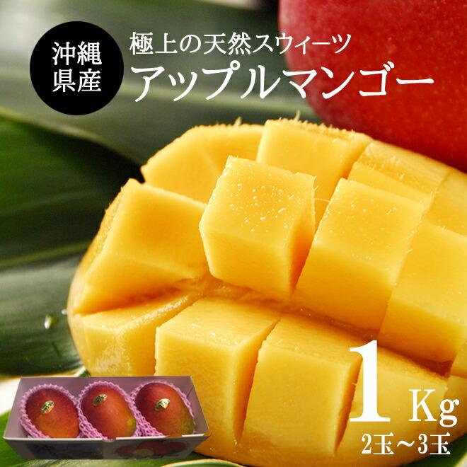 沖縄県産アップルマンゴ−