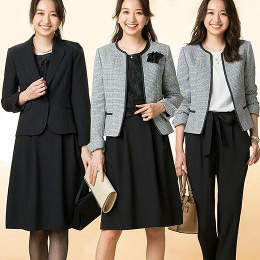 【5点セット】入学も卒業もコレー着!!うれしい機能付!着まわし5点スーツ