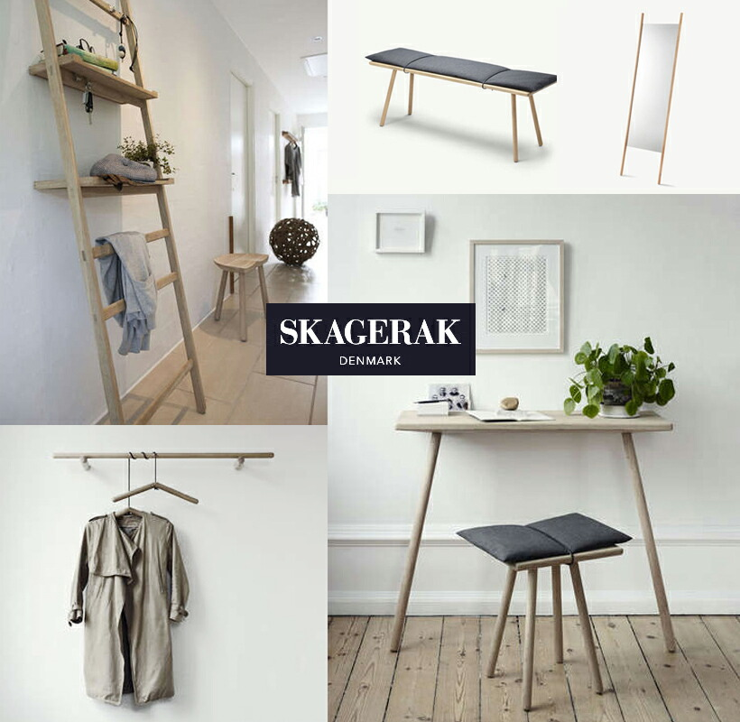 style deco rakuten global market skagerak skearak and georg stool george stool oak w 45. Black Bedroom Furniture Sets. Home Design Ideas