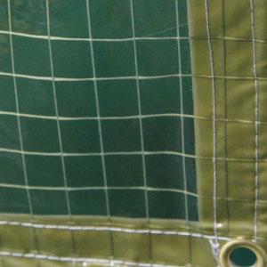 緑透明防炎防虫ビニールカーテン