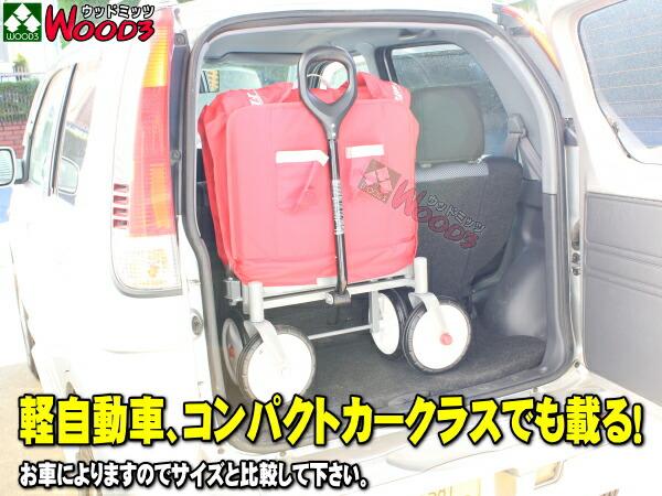 ラジオフライヤー #3956A 折りたたみ式 ワゴン