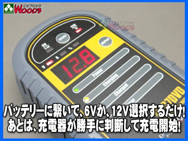 バッテリー上がり バッテリー充電 HFG7DVD オートマチック