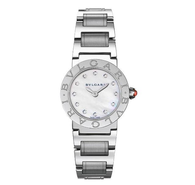 65e4f551d7bc [ブルガリ]BVLGARI 腕時計 ブルガリブルガリ ホワイトパール文字盤 BBL26WSS/12 レディース 【並行輸入品】