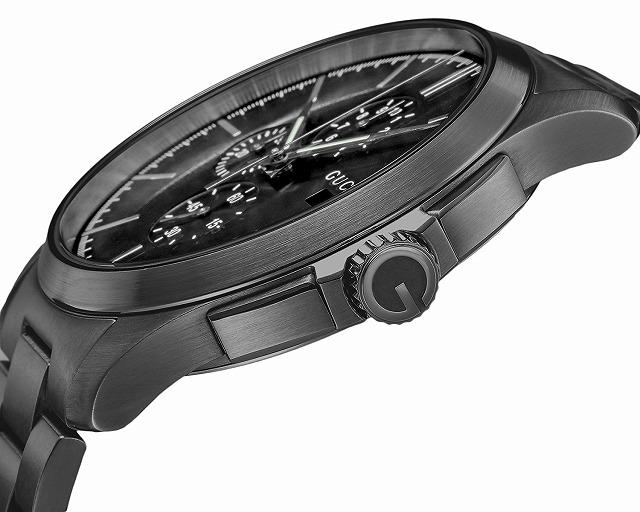 6564116c4afd [3年保証](グッチ) GUCCI グッチ 時計 GUCCI YA126274 Gタイムレス クロノグラフ メンズ腕時計 ウォッチ ブラック  [並行輸入品]