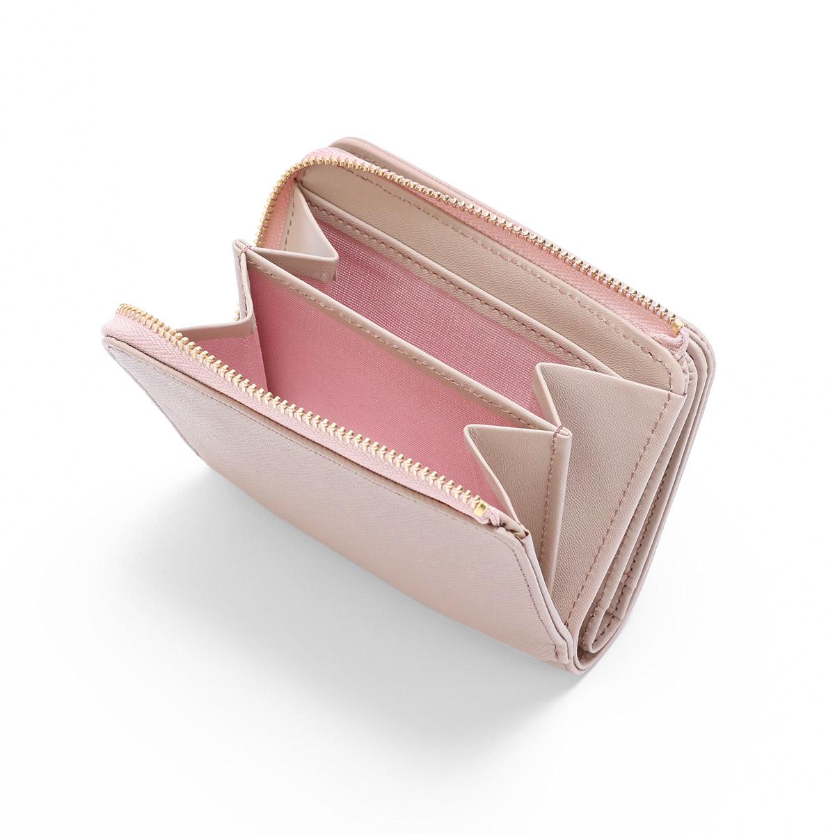 ランバンオンブルー二つ折り財布