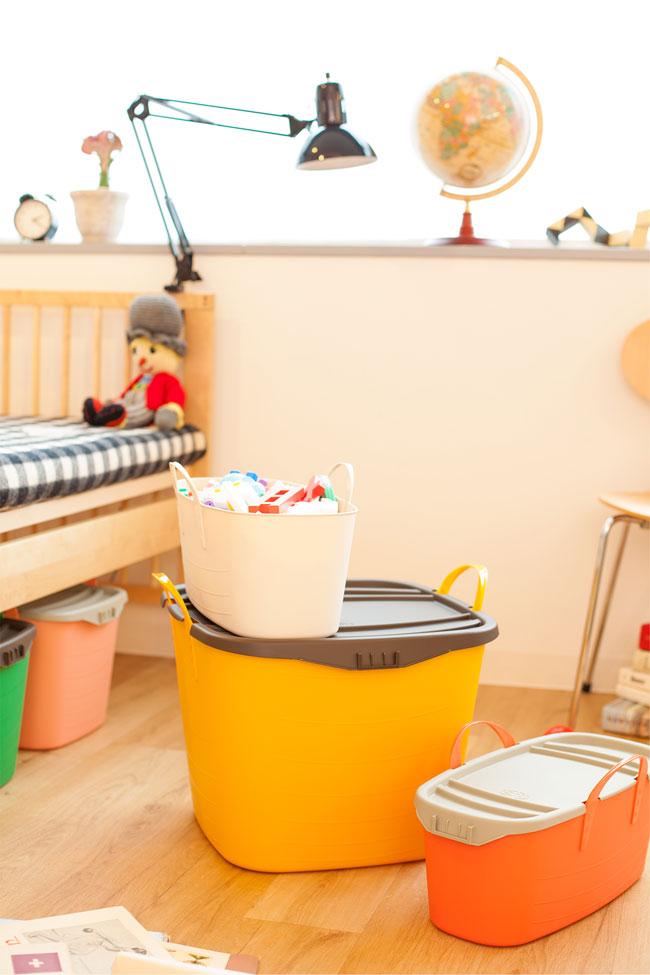 スタックストー 子ども部屋 収納 おもちゃ箱