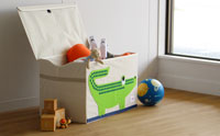 スリースプラウツ 3sprouts トイチェスト クロコダイル 動物イラストのおもちゃ箱