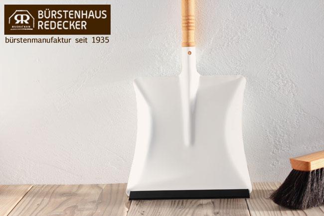 レデッカー ダストパン ホワイト(パウダーコーティング ホワイト) ハンドメイドのかわいい掃除道具。 レッデカーREDECKER