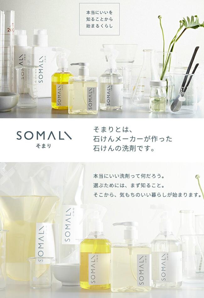 SOMALI 台所用石けん 300ml