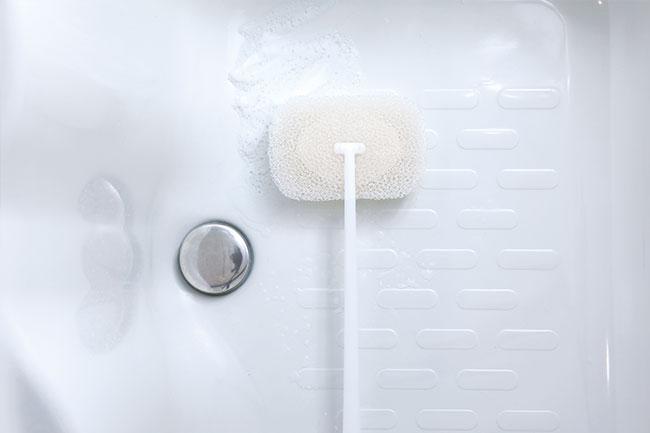 マーナ お風呂の柄付きスポンジ