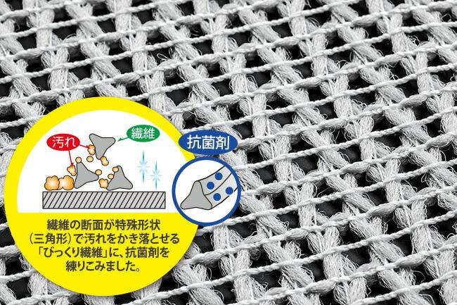 サンコー びっくり抗菌糸で作ったメッシュクロス