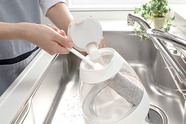 サンコー びっくり抗菌糸で作ったマグボトル洗い