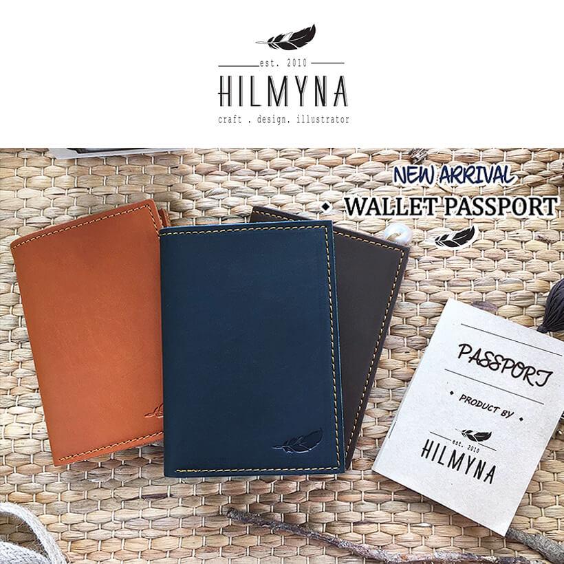 財布 パスポートケース ハンドメイド HILMYNA