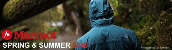 marmot 2018 SPRIN&SUMMER COLLECTION