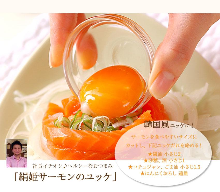 絹姫サーモンレシピ4