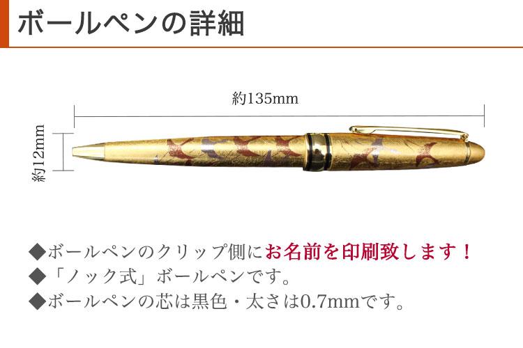 ボールペンの詳細
