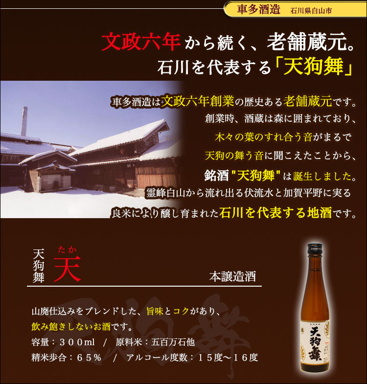 酒造とお酒の紹介