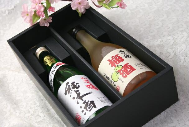 加賀鶴【純米酒 上撰&梅酒 夫婦セット(化粧箱入り)】