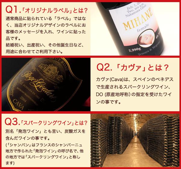 ロジャーグラートワインへのQ&A