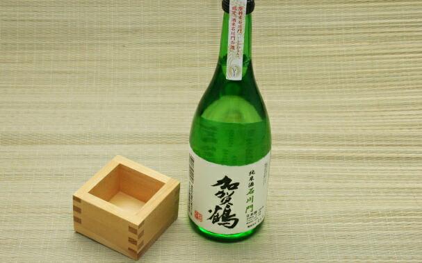 加賀鶴 純米酒 石川門(辛口・720ml)