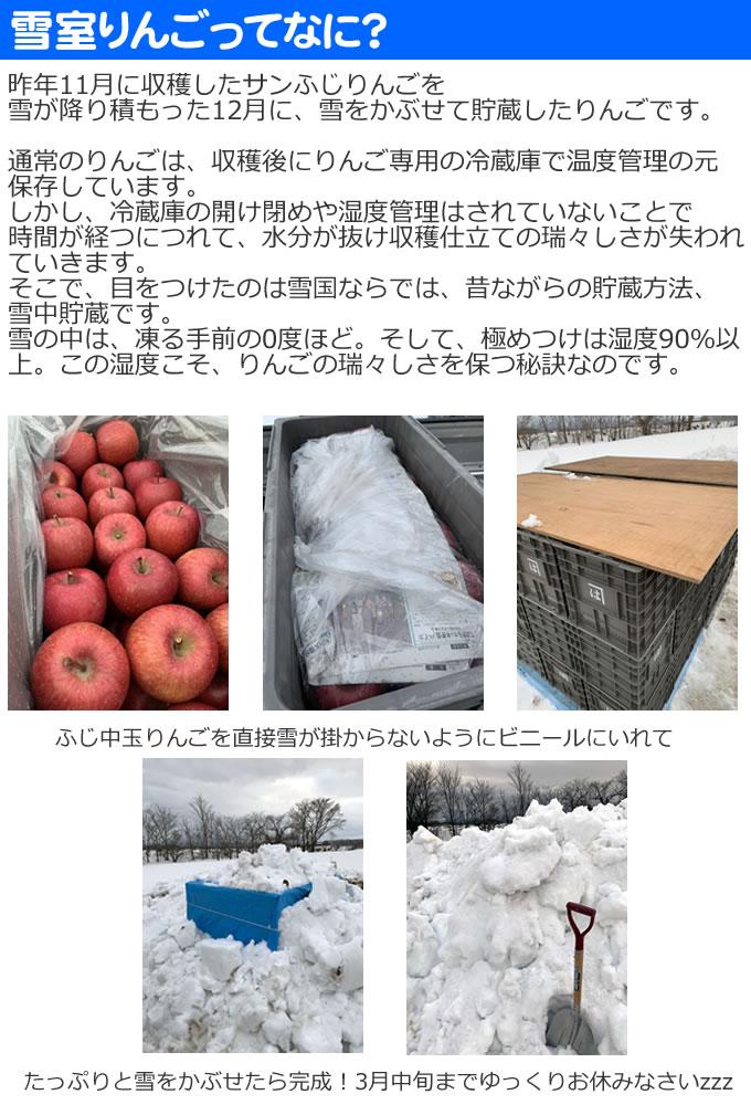 雪室りんご