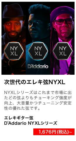 エレキギター弦 NYXL