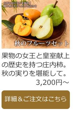 秋のフルーツセット