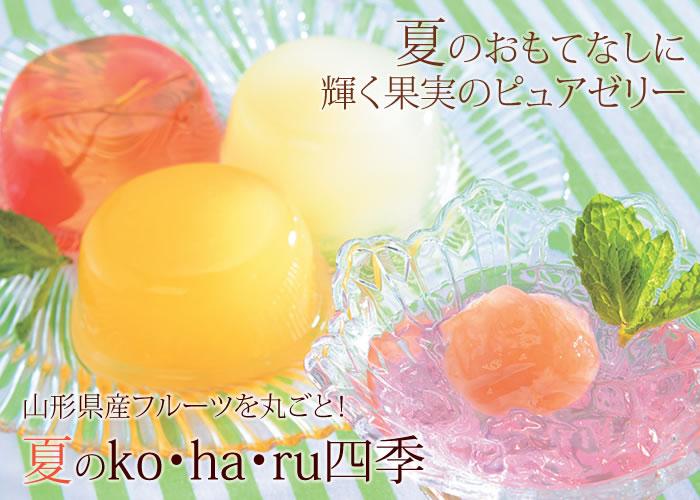 夏のko・ha・ru四季