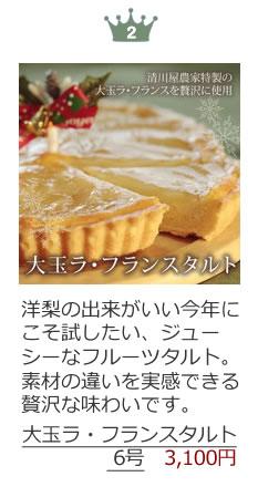 新作クリスマスケーキランキング第2位