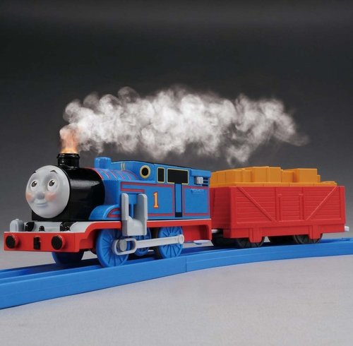 Western Bedroom Tank Toy Box Or: TOYLAND CLOVER: Pla-rail Thomas The Tank Engine Steam Is