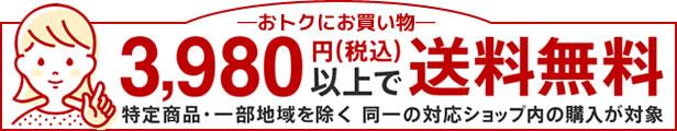 3,980円(税込)ご購入で送料無料