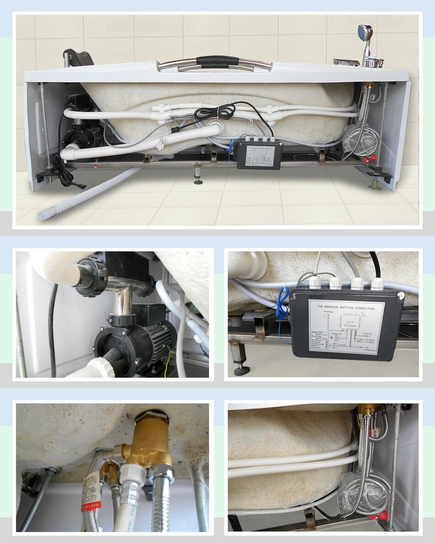サイズ 組み立て 排水栓 バスタブの部品 ジェットバス部品 パイプ ホース