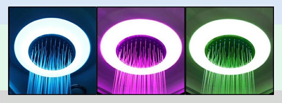 シャワールーム、シャワーユニット、シャワーブース、浴槽、シャワーを浴びる、リラックス、疲れを取る、シャワーヘッド、シャワールーム設置、ショールーム 天井シャワー 天井照明 天井LEDライト シャワーライト