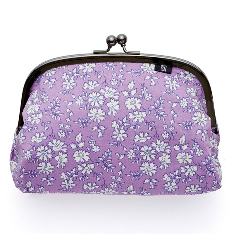 カペル柄/紫