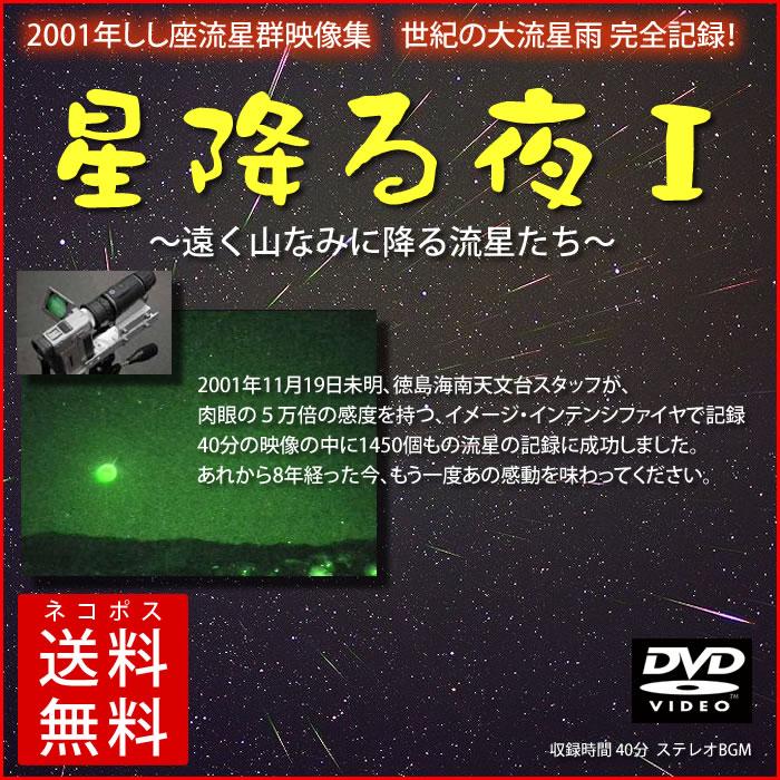 しし座流星群2001映像集「星降る夜1」