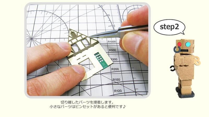 みにちゅあーとキットの作り方02