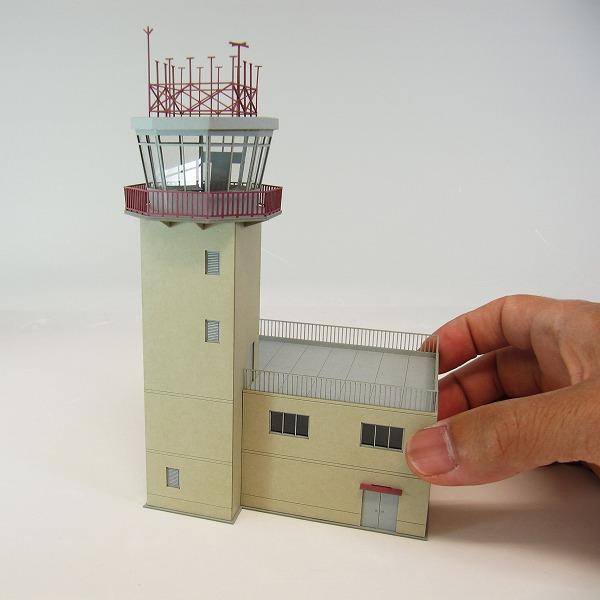 みにちゅあーとキット/航空情景シリーズ/管制塔type-A