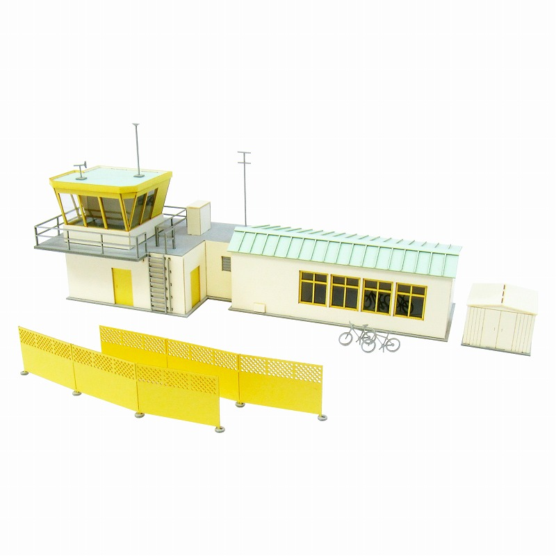 Sankeishop Aviation Visual Scene Series Paper Model Kit