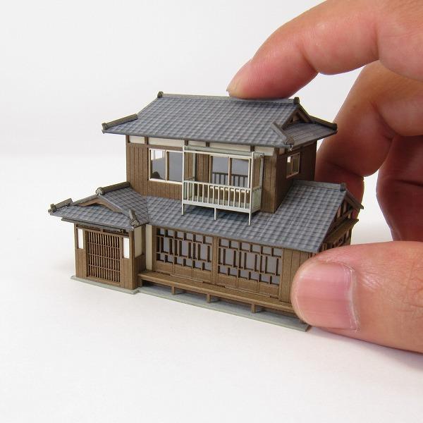 sankeishop oldie but diorama series ◇ paper model kit papercraftJapanese Model House #18
