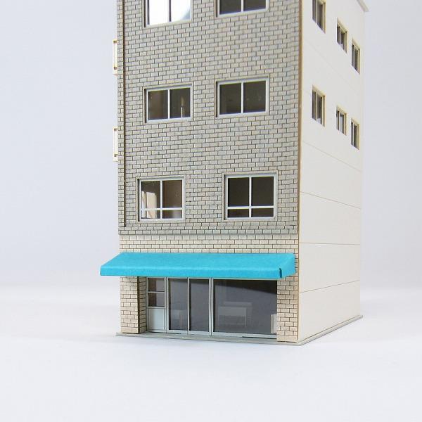 【ビルC】なつかしのジオラマシリーズ◆紙模型(ペーパークラフト/キット)◆鉄道模型Nゲージ対応[超精巧建築模型]【みにちゅあーとキット】【smtb,k】【ky】【YDKG,k】【★4】|みにちゅあーとショップ