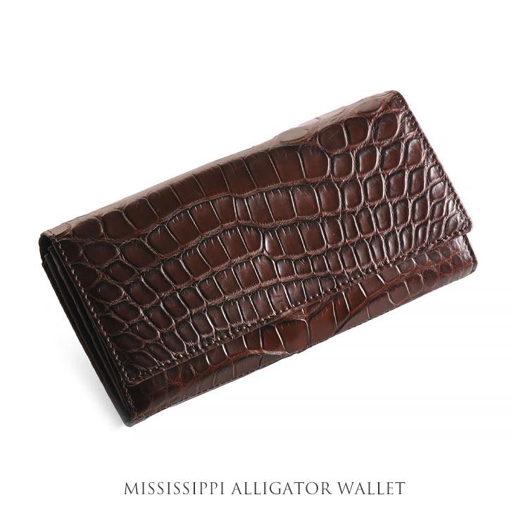 アリゲーター 長財布