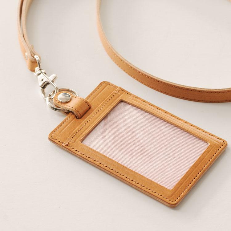 栃木レザー ID カード ホルダー 日本製