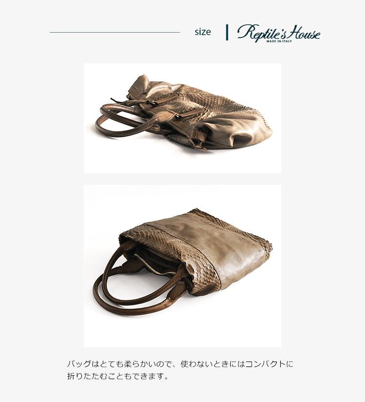イタリア製 本革 ボストン バッグ