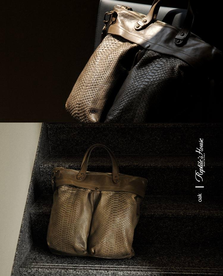 イタリア製 本革 トート バッグ
