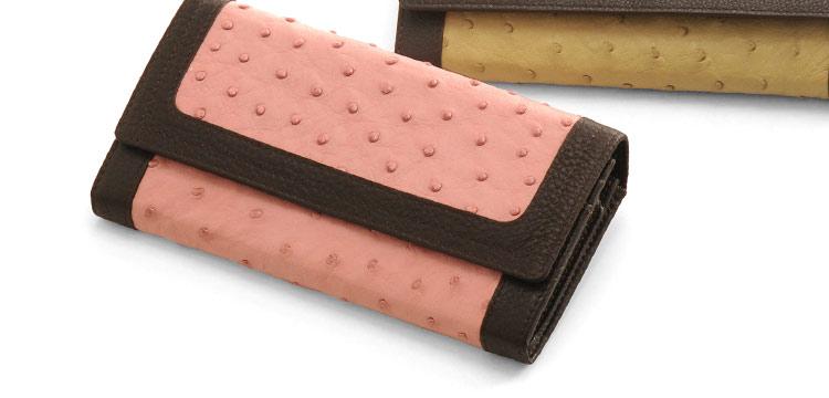 オーストリッチ婦人財布