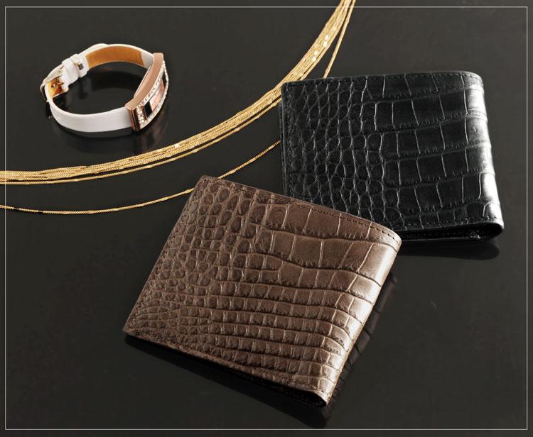 クロコダイル 財布 高級品